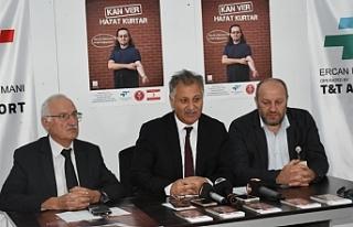Ercan'da kan bağışı kampanyası