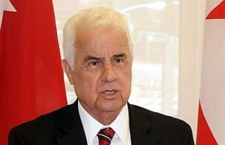 """Eroğlu: """"Kıbrıs Türklerinin en büyük şansı..."""