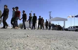 Güney Kıbrıs'taki kaçak işçi sayısı 40...