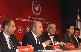 Hükümetten Lefke'de istişare toplantısı
