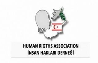 İnsanHakları Derneğinden protesto