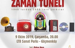 """Konser sezonunu """"Zaman Tüneli"""" ile açılıyor"""