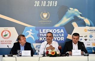 Lefkoşa Turkcell'le Koşuyor maratonu, 20 Ekim'de