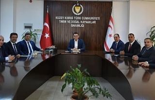 Oğuz, Türkiye'den Gübretaş Genel Müdürü İbrahim...