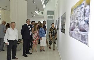 Ortak sanat sergisi açıldı
