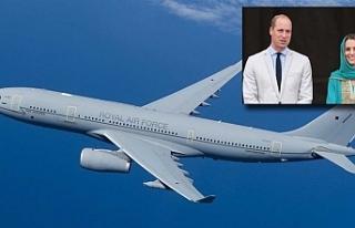 Prens William'ın uçağı İslamabad'a...