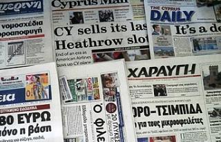"""Rum basını: """"Kıbrıs sorunuyla ilgili iki..."""