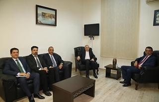 Rusya Federasyonu Büyükelçisi CTP'yi ziyaret...