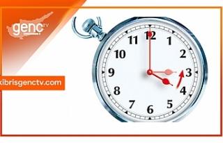 Saatlerinizi geri almayı unutmayın