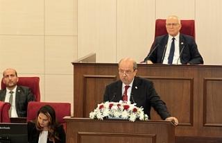 """Tatar: """"Halkın refah ve mutluluğunu sağlayacak..."""