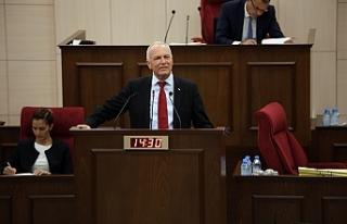 """Töre: """"Barışın anahtarı Kıbrıs TürkTürk..."""