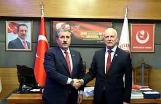 """Töre: """"Biz anavatan ile beraberiz ve Türk milletinin..."""