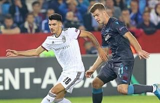 Trabzonspor sahadan bir puanla ayrıldı