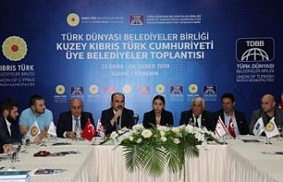 Türk Dünyası Belediyeler Birliği'nden KKTC'de...
