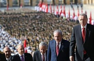 Türkiye'de 29 Ekim coşkusu