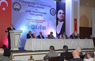 Türkiye Yol-İş Sendikası toplantısı Girne'de...