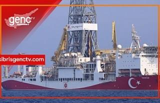 Yavuz sondaj gemisi Güzelyurt-1 lokasyonuna ulaştı