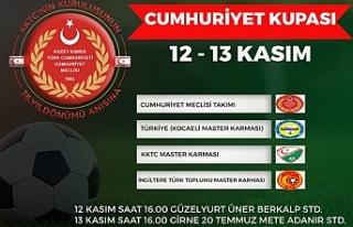 '2. Cumhuriyet Kupası' futbol turnuvası...
