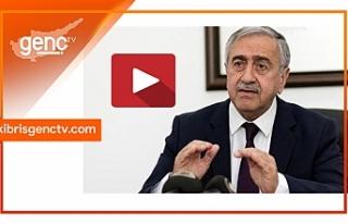 """Akıncı'dan Ercan'da açıklama: """"Süreç..."""