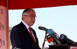 """Akıncı: """"Türkiye ile yakın işbirliği ve..."""