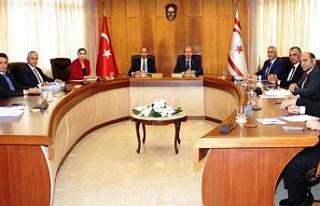 Başbakan Ersin Tatar başkanlığında toplandılar