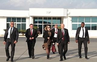 Başbakan Ersin Tatar, İstanbul'a gitmek üzere...