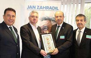 Başbakan, Strazburg'ta temaslarda bulunuyor