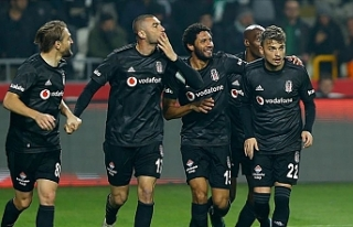 Beşiktaş yenilmezlik serisini 6 maça çıkardı