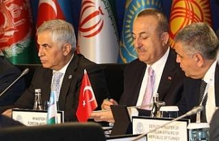 Çavuşoğlu, Ekonomik İşbirliği Teşkilatı 24....