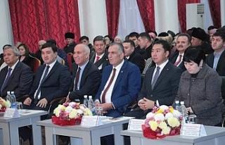 Çavuşoğlu, TÜRKSOY Daimi Konseyi 37. Dönem Toplantısı'na...