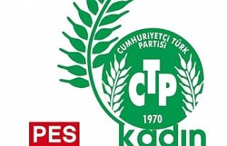 CTP Kadın Örgütü'nden mesaj