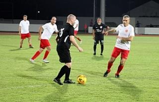 Cumhuriyet Kupasında ilk gün maçları yapıldı