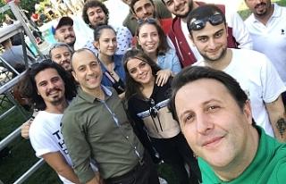 DAÜ Sinema Kulubünden film setine ziyaret