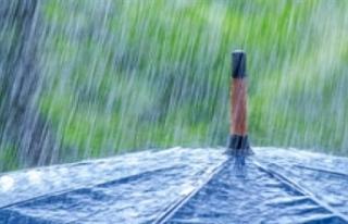 En fazla yağmur metrekareye 65 kg ile Zafer Burnu'nda...
