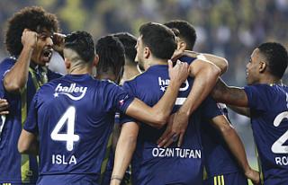 Fenerbahçe - Kasımpaşa maçında 5 gol