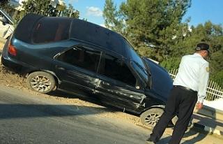 Fuar Kavşağı yakınında kaza