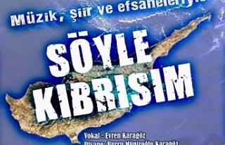 """Girne Ada Lions Kulübü'nden """"Söyle Kıbrısım""""..."""