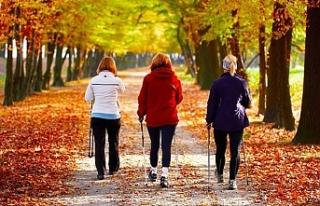 Günde 15 dakika fazla yürümek hem sağlığa hem...