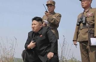 Güney Kore sınırı yakınına top atışı yaptırdı