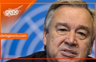 """Guterres açıkladı: """"Gayri resmi 5+ bir görüşme"""""""