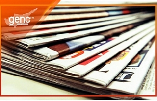 KKTC Gazetelerinin Manşetleri - 8 Kasım 2019