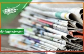 KKTC Gazetelerinin Spor Manşetleri - 8 Kasım 2019