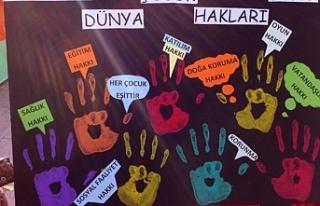 KKTC SOS Çocukköyü Derneği'nden Çocuk Hakları...