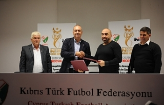 Nicosia Group ile Kıbrıs Kupası protokolü imzalandı