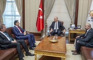 Oğuz, AK Parti Genel Başkanvekili Numan Kurtulmuş'u...