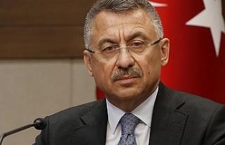 """Oktay: """"Türkiye'nin güçlü olması, Kıbrıs'ın..."""