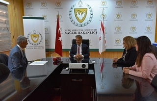 Pilli, Kıbrıs Türk Diyabet Derneği Başkanı Caner...
