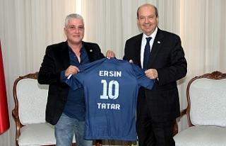 Tatar, Doğan Türk Birliği heyeti ile görüştü