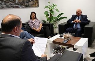 TDP, Belediyeler ile imar planını ele aldı