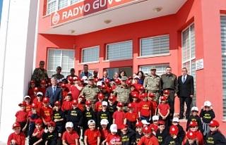 Tuğgeneral Altan Er ve öğrencilerden ziyaret